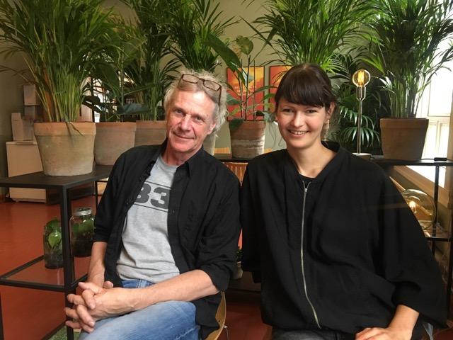 Poesiscena: Hanne Kolstø, Øyvind Røsrud Gundersen og Viggo Solum