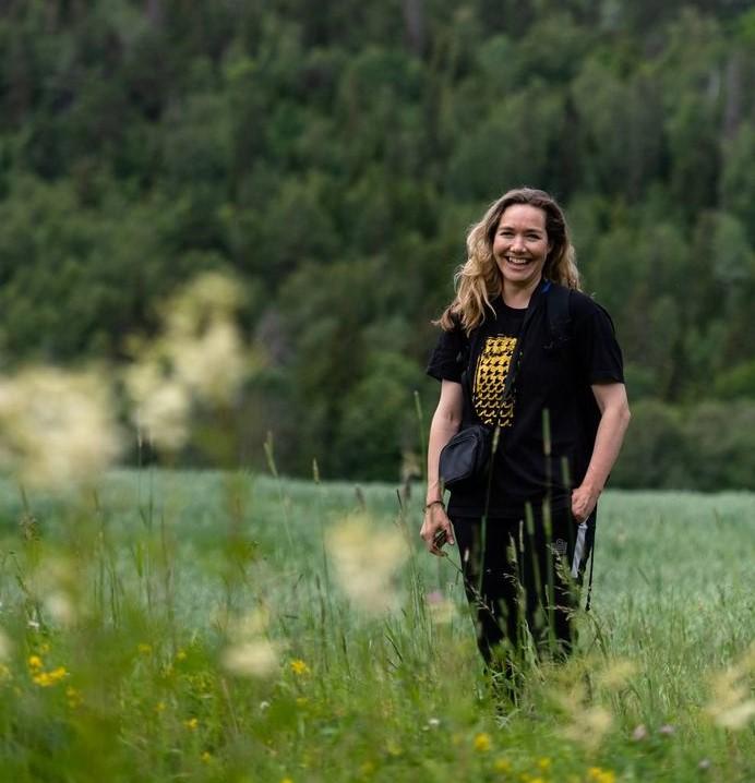 Intervju med Helle Siljeholm